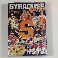 Syracuse Championship Tradition Cereal Box - Jim Brown - Carmelo Anthony