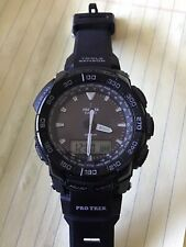 Casio Protrek Triple Sensor Tough Solor Mens Watch PRG 550.