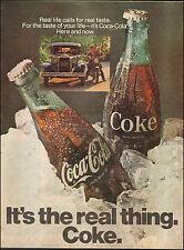 1962 Vintage ad for Coca-Cola`Retro Bottle Ice Photo retro car   052417