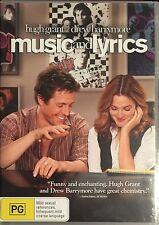 Music And Lyrics (DVD, 2007)  Hugh Grant  Drew Barrymore  BRAND NEW
