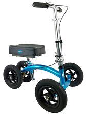 NEW KneeRover QUAD Jr All Terrain Knee Walker in Metallic Blue Preowned
