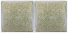 "William Morris Brer Rabbit Manilla Ivory Pair Of 16"" x 16"" Inc. 18"" x 18"" Inners"