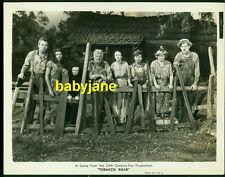 GENE TIERNEY CHARLEY GRAPEWIN ETC VINTAGE 8X10 PHOTO 1941 TOBACCO ROAD CAST