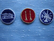 New listing Three Fire Department Embroidered Collar Patches