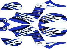 Kit Déco Quad / ATV pour Yamaha Raptor 660 Blue Wave