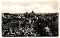 Ansichtskarte PK Thüringen Erfurt Totalansicht Stadtansicht sw gelaufen 1938