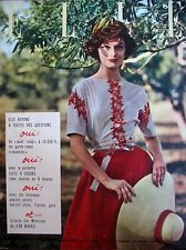 ELLE N° 0600 MEMOIRES DE JEAN MARAIS DECORATION MODE MAGAZINE FEMININ 1957