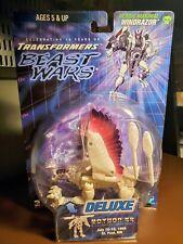 Hasbro 3H Transformers BotCon 1999 Exclusive WINDRAZOR MOSC Complete TFCC OTFCC