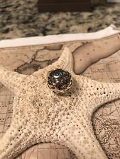 SILPADA R1740 .925 Sterling Silver Oxidized Dome Filigree Chunky Ring Size 6