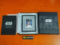 2017 $2 NIUE PROOF SILVER EMPIRE STRIKES BACK STAR WARS POSTER BAR W/ BOX/COA