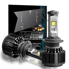 60W 7200LM CREE H7 LED Headlight Kit Bulbs 6000K White Light Pair High Power HID