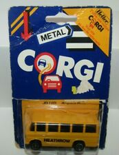 Corgi Juniors JB105 Mercedes Benz Heathrow Airport Bus Yellow Mint on Blister