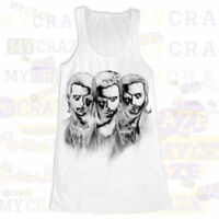 SWEDISH HOUSE MAFIA DJ White Tank Top