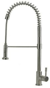 Swedia PRIMA KITCHEN SINK MIXER With Dual Flow, Brushed Stainless Steel