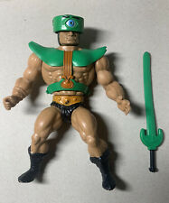1981 MOTU HE-MAN Vintage Tri-Klops, with sword!