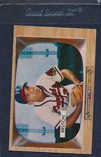 1955 Bowman #011 Billy Bruton Braves VG 55B11-10116-4