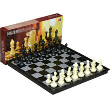 """High-Quality Tournament Magnetic Travel Chess Set 4912-B Notation large size 14"""""""