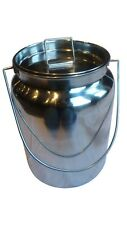 10 Qt Stainless Steel Milk Can Tote, Brand New, Seamless (New-Open Box)