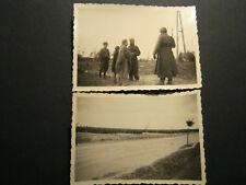 2 x Orig. Foto WK2 WW2 Elite Waffen-XX Artillerie Rgt Gefangene Polen Feldzug