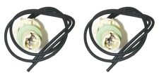 Parts Master 82002 2-Wire Side Marker Lamp Socket & Pigtail for GM Cars (Qty 2)