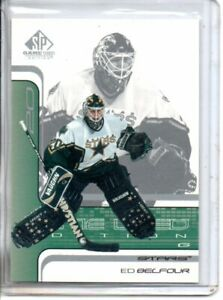 2001-02 SP GAME USED ED BELFOUR (NM/MT OR BETTER)