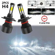 2PCS H4 LED Car Headlight Conversion Kit COB Bulbs White Power 6000K Lights Lamp
