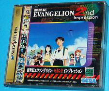 Neon Genesis Evangelion 2nd Impression - Sega Saturn - JAP Japan