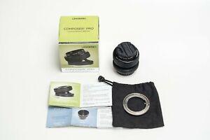 Lensbaby Composer Pro, Sweet 35 Optic 35mm f/2.5-22 Lens, Nikon F mount/Canon EF