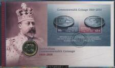 2010 Centenary of Coinage Philatelic Numismatic Cover