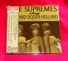 Diana Ross & The Supremes Sing Holland Dozier JAPAN SHM MINI LP CD UICY-75225