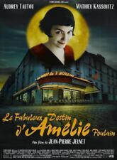 AMELIE POULAIN Affiche Cinéma 160x120 Movie Poster AUDREY TAUTOU JP JEUNET