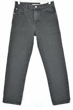 Topshop Cotton Stonewashed Straight Leg Jeans for Women