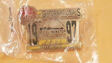 NHRA TOP ELIMINATOR HAT PINS GATOR NATIONALS (1997)