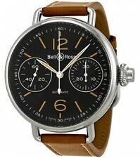 BELL & ROSS WW1 MONOPUSHER CHRONOGRAPH AUTOMATIC (BRWW1-MONO-HER/SCA)