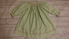 Zuccini Smocked Green Gingham Bishop Birthday Cake Balloon Dress 2T Girl