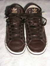 Adidas UK Size 4.5 Honey Mid High Ladies Trainers BROWN Shoes U43363