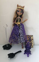 Monster High Doll Clawdeen Wolf 13 Wishes Haunt The Casbah  W/ Accessories EUC