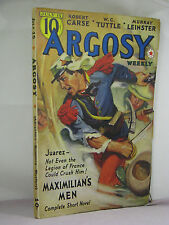 Argosy Weekly July 15 1939,A Merritt 7 Footprints 4/5,Leinster Plague Ship,more+