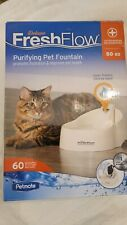 New Deluxe Fresh Flow Cat White Water Bowl