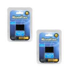 TWO BATTERIES for OLYMPUS LI-10B LI-12B FE-200 C-50 Zoom Stylus 1000 BATTERY X 2