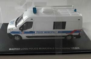PERFEX 1/43 RENAULT MASTER LONG POLICE MUNICIPALE Limitée 150 pieces PERFEX705