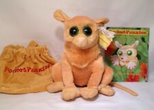 L@@K! ON SALE NOW! CUTE Tarsier Plush Animal & Story Booklet  - PocketFuzzies