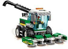 LEGO City Combine Harvester Tractor & Farmer Minifigure Farm Train Town Scenery