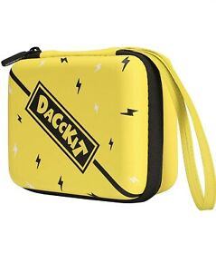 D DACCKIT Hard Carrying Case Compatible with Pokemon Card, Holds Up to 400 Cards