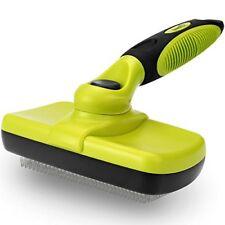 Grooming Brush Self-Cleaning Slicker Dog Cat Brush for Pets Long  Short Hair S