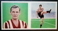 Sheffield United  Joe Shaw  Vintage 1960 Football Card