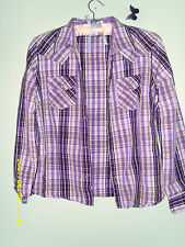 Blouse Unbranded Striped Semi Fitted Tops & Shirts for Women