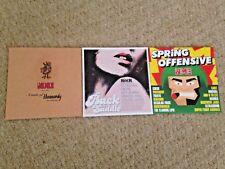 NME Magazine & Classic Rock Promo 3 x CD job lot bundle collection Heavenly 100