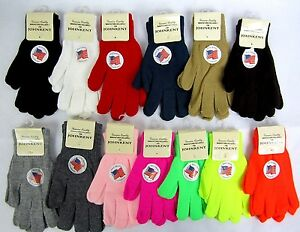 Choose Color- Magic Stretch Unisex Knit Glove  Winter Warm One Size Fits Most