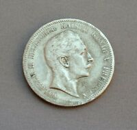 Silbermünzen 5 Mark Wilhelm II König von Preussen 1898 A